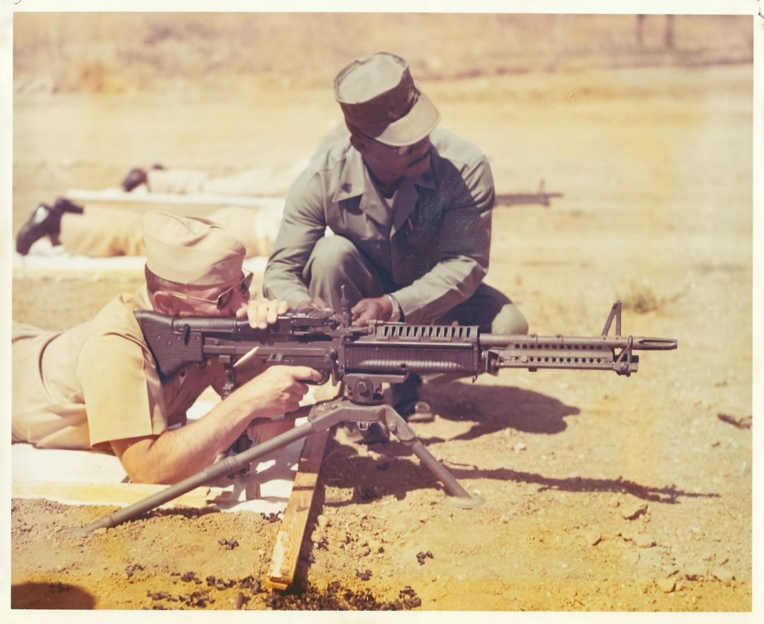 M-60 machine gun