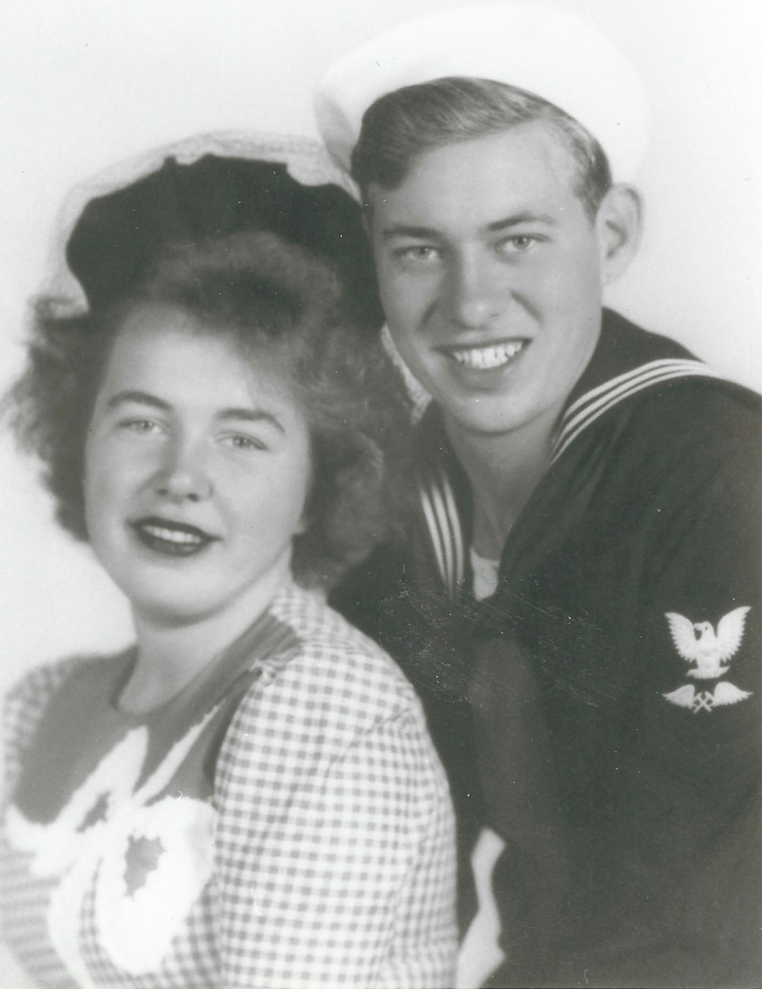 My parents - George and Barbara - 1945