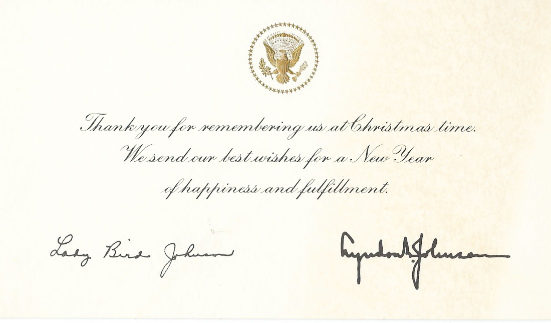 White House Card