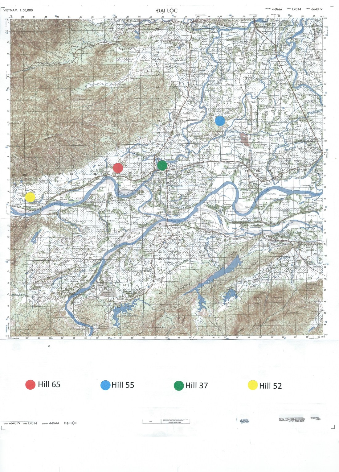 Grid Map Dai Loc