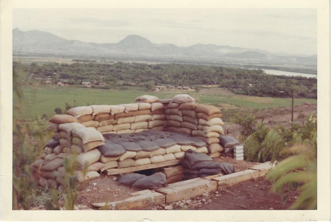 reinforced bunker