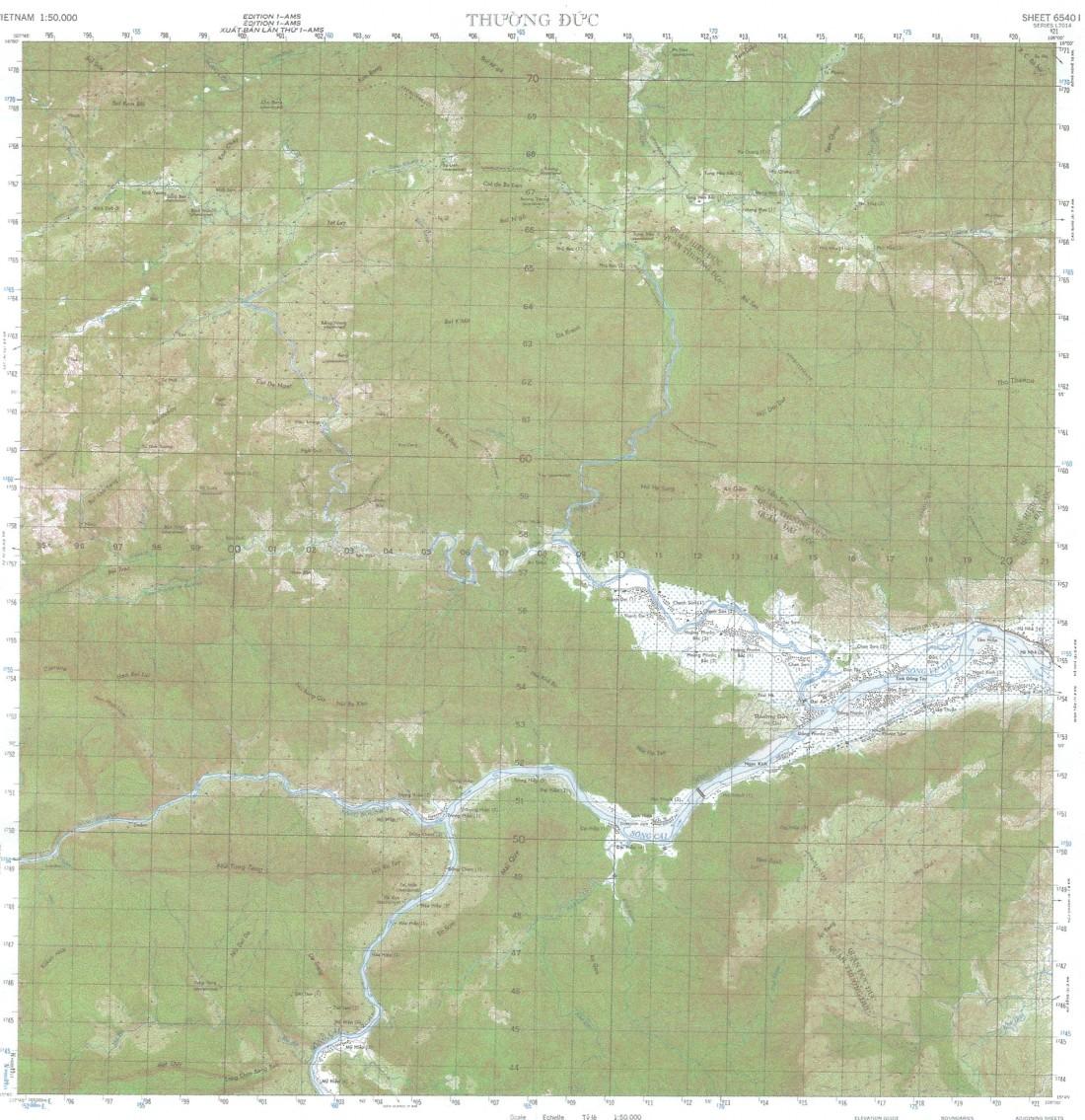 Thuong Duc Map