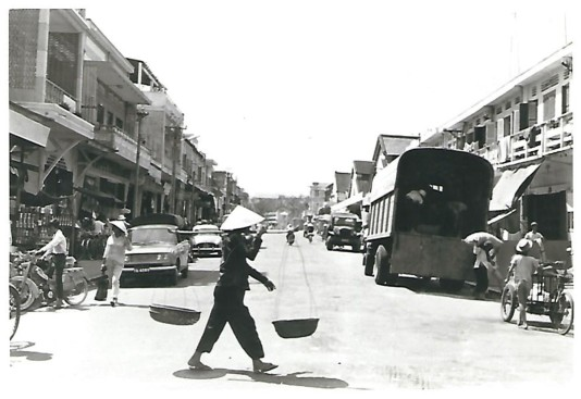 Downtown Da Nang Commerce - 1968